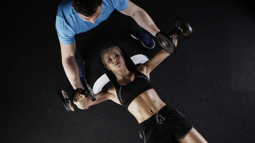Treinar com um personal trainer